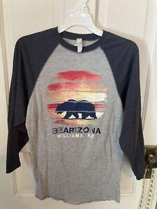 adult t shirt size s long sleeves bearizona