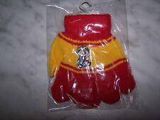 MIO Baby & Toddler Girls Boys Red & Yellow Winter Gloves (NEW) Dog