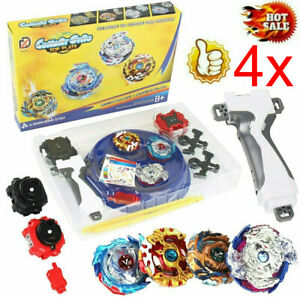 Kreisel für Beyblade Burst starter Kit Set Arena Bayblade Top Mit Launcher DHL