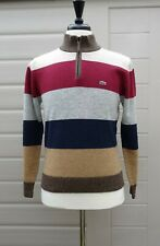 LACOSTE WOOL BLEND SWEATER / JUMPER SIZE 3 SMALL - MEDIUM NEW WITH TAGS