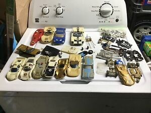 🔥Lot of Vintage Strombecker slot cars and Accessories! 🔥