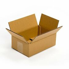 25 Pack 9x6x4 Corrugated Cardboard Packing Shipping Mailing Boxes Ecommerce NEW