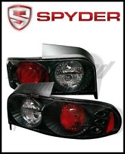 Spyder Subaru Impreza (Excluding Wagon) 93-01 Euro Style Tail Lights Black