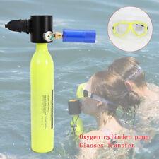 Mini Bouteille d'oxygène portable équipement plongée de loisirs Natation 3000PSI