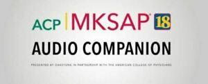 Medical Knowledge Self Assessment Audio Companion 18 MKSAP Part A&B + Q&A