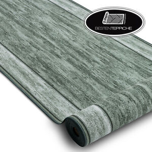 Modern Good Value Anti-skid Runner 'Rama' Rubberised Green Width 67-80-100-120