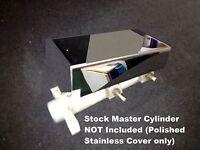 Fits Pontiac Holden G8 6.0 6.2 LS2 LS3 MASTER CYLINDER COVER w CHROME CAP engine