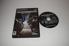 Transformers The Game Sony Playstation 2 PS2 Game Disc w/ Case
