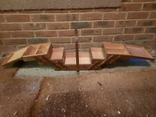 More details for vintage wooden cantilever sewing box