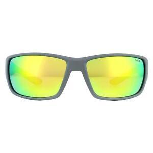 Bolle Sunglasses Kayman 12371 Matte Grey Green Brown Emerald Polarized
