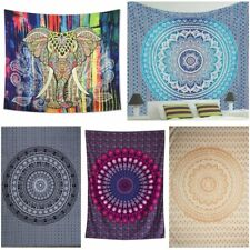 Large Indian Tapestry Wall Hanging Mandala Hippie Bedspread Throw Bohemian Cover