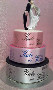 Wedding/Birthday/Anniversary/Graduation/Engagement/Personalised Cake Ribbon 2mt