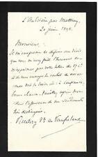 LOUIS PISCATORY VICOMTE DE VAUFRELAND ARCHÉOLOGUE