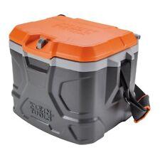 Klein Tools Work Cooler 17-Quart, Keeps Cool 30 Hours Seats 300 pounds,Tough Box