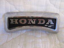 HONDA CM400 FRONT FORK FRAME EMBLEM 1978-81 CB400 CB450 FORK COVER EMBLEM