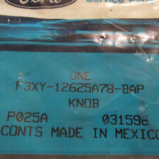 NOS 1993 - 1998 MERCURY VILLAGER REAR SEAT BACK LATCH KNOB ASBY F3XY-12625A78BAP
