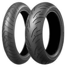 Bridgestone BT023 Front & Rear Tyres 120/70ZR17 & 190/50ZR17 Motorcycle Tyre
