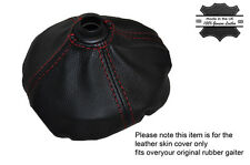 RED STITCH MANUAL GEAR GAITER FITS OVER RUBBER FITS CITROEN C2 GT 2003-2004