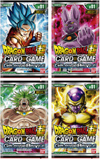 (1) Dragon Ball Super Card Game Galactic Battle Booster Pack Factory Sealed