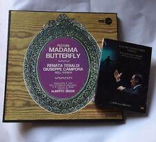 3 LP DECCA ECLIPSE ECS-I 201/03 PUCCINI MADAMA BUTTERFLY TEBALDI DVD L'ORFEO