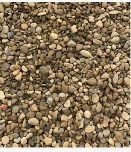 3 tonnes Pea Shingle / Gravel 10mm loose , 2400-3000kg FREE DELIVERY
