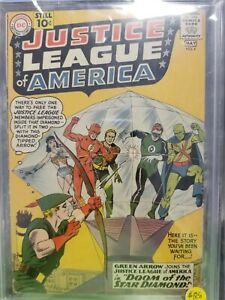 Justice League #4 1st Print 1961