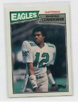 1987 TOPPS # 296 RANDALL CUNNINGHAM ROOKIE , EAGLES