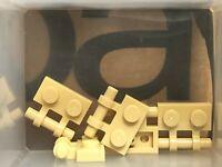 Flat 1x2 Handle New New Beige Tan 4 x Lego 48336 Plate Handle