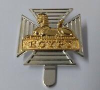 Genuine British Military Issue Two Tone Egypt Decorative Dress Hat Badge  - NEW