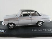 """IXO #135 Opel Kadett A Coupé (1962) """"Mersheimer"""" in silber/schwarz 1:43 NEU/PC"""