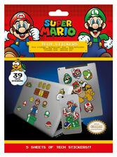 Super Mario (Mushroom Kingdom) Tech Stickers / Decals *OFFICIAL*