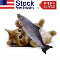 Electronic Pet Cat Toy Electric USB Charging-Simulation Cats Flopping Fish Toys