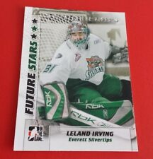 2007/08 In The Game Hockey Leland Irving Card #34***Everett Silvertips***