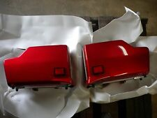 NOS Honda OEM Red Saddle Bag Set VF750 08161-MB001