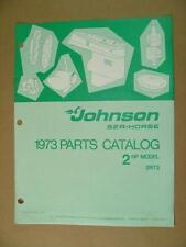 1973 OMC JOHNSON 2 HP MODELS 2R73 OUTBOARD MOTOR ENGINE PARTS CATALOG 386129