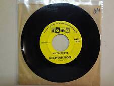 """BOYS NEXT DOOR:Why Be Proud 2:29-Suddenly She Was Gone-U.S. 7"""" 1965 Soma 1439"""