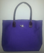 Canvas and Leather Tote - Shopper