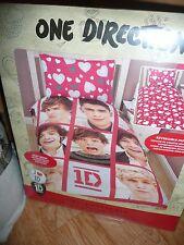 "1D One Direction Set Copripiumino singolo double face & 1D ""Mania"" SPUGNA ** NUOVO **"