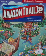 Amazon Trail 3rd Edition Rain forest Adventures PC Video Game2 007 Jewel Case