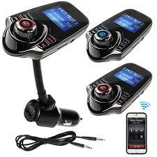 Bluetooth Car Kit MP3 Player FM Transmitter Wireless Radio Adapter USB Charger