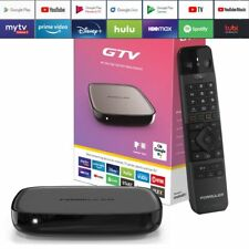 🔥Formuler GTV 4K Ultra HD H.265 Bluetooth Dual-WiFi TV IP Android 9.0 Mediaplay