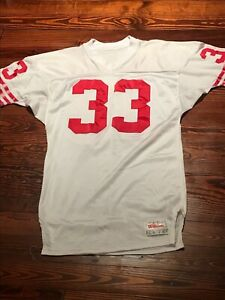 San Francisco 49ers Roger Craig Wilson Team Issued Game Style Football Jersey