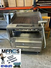 Bakers Pride Commercial Gas Charbroiler Amp Chef Base Nice