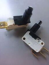 Micro interruttore pulsante in plastica Micro Switch faston 6,3mm 220V 16A 2PZ