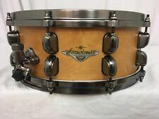"""Tama Starclassic Maple 14"""" X 5.5"""" Snare Drum/Vintage Antique Maple/MAS1455U-VAM"""