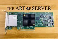 LSI 9207-8e SAS HBA 6Gbps PCI-E 3.0 P20 IT mode ZFS FreeNAS unRAID low profile