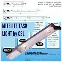 UC18W Mitelite Halogen under cabinet lighting 18 inches Unit halogen lamp