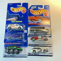 Hot Wheels Mattel Vintage Cars Truck Toys Lot of 6 NOS #N1-3
