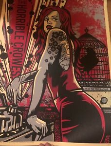 The Horrible Crowes poster print RARE The Gaslight Anthem Brian Fallon