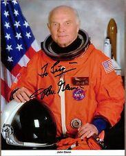 "John Glenn, Mercury 7 Astronaut, US Senator, Signed & Inscribed 8"" x 10"" Photo"